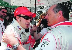 Alonso eta Ron Dennis