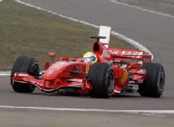 Ferrari kotxea