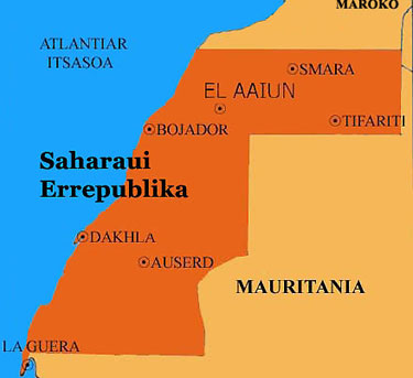 mendebaldeko sahara