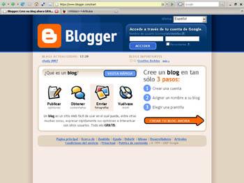 Bloger berria egin