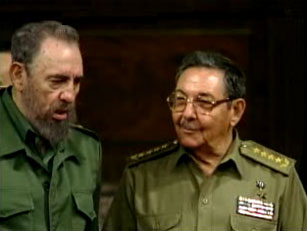 Fidel eta Raul anaiak