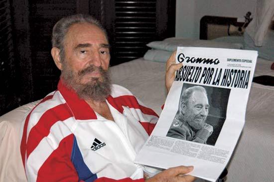 Fidel Castro hesteetako gaitzak jota