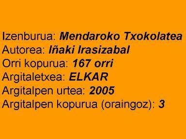 Mendaroko txokolatea fitxa