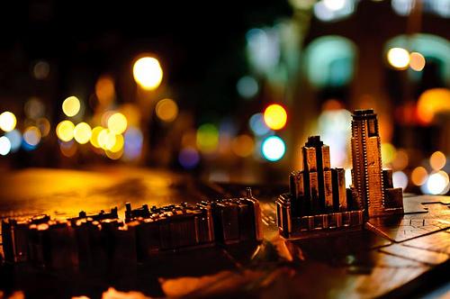 Gaueko argiak (FlickrCC, cuellar)